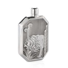 Royal Selangor Lion Hip Flask (Large)