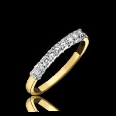 Diamond 11 Stone Ring