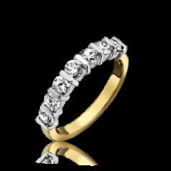 Diamond 7 Stone Ring