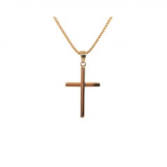 9ct Yellow Gold Large Cross