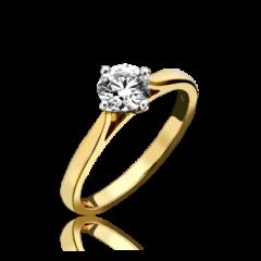 Single Stone Diamond 4 Claw Ring (NSEW)