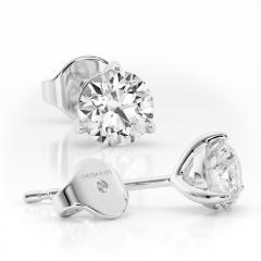 18 carat White Gold MARTINI ICE 1ct Laboratory Grown Diamond Earrings