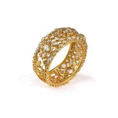 22ct Gold Uncut Polki Ring