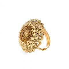22ct Rose Antique Ring
