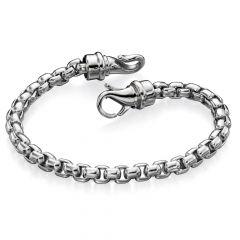 Stainless Steel Belcher Link Bracelet