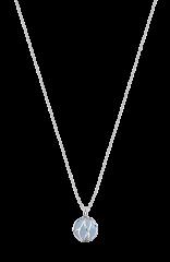 Paradise Aquamarine Ball Necklace