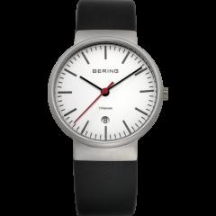 Unisex Calfskin Leather Watch