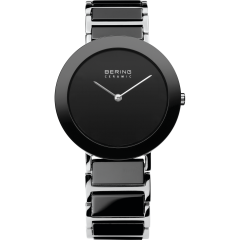 Ladies Ceramic - Black Bracelet Watch