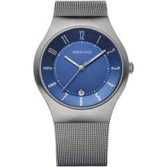 Men's Titanium Milanese Grey Watch