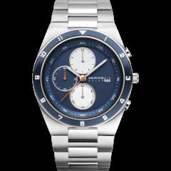 Men's Stainless Steel Solar Watch