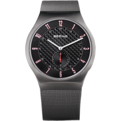 Men's Milanese Grey Radio Controlled Watch