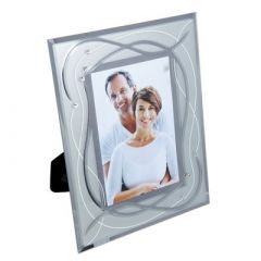 Dartington Celebrate Photo Frame Silver