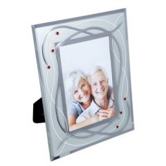 Dartington Celebrate Photo Frame Ruby