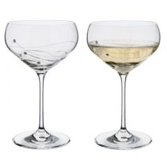 Dartington Glitz Saucer (Pair)