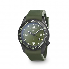 Elliot Brown Holton Watch Green Rubber