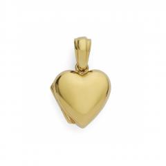 9ct yellow gold Heart Shaped Locket