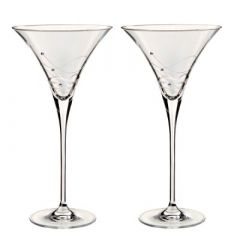 Dartington Glitz Martini (Pair)