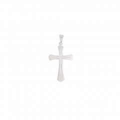 Sterling Silver Ornate Cross