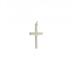 Sterling Silver Plain Cross Pendant
