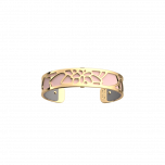 Les Georgettes Nenuphar Gold with Grey/Pink Leather 14mm